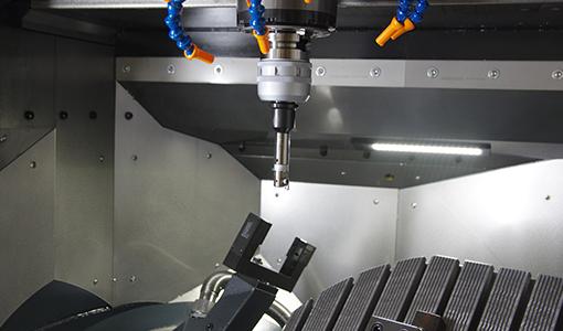 様々な産業分野の部品加工に対応